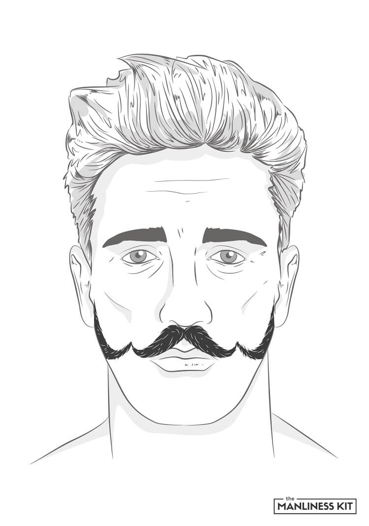 the ringmaster mustache style