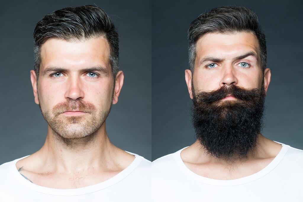 shaving a beard and beard growth rate