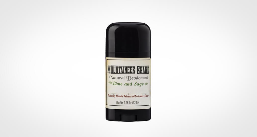 Mounteneer brand natural deodorant for men