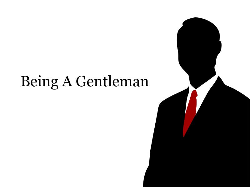 Being-A-Gentleman