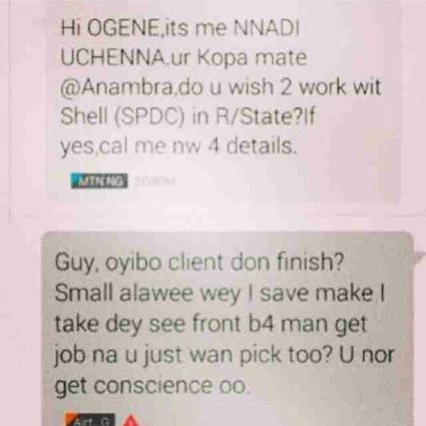 NYSC Nigerian
