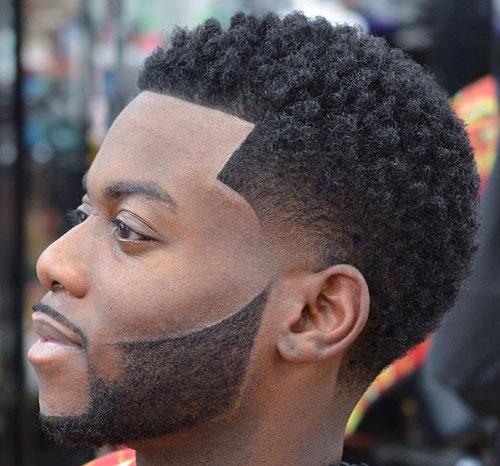 side buns fade haircut