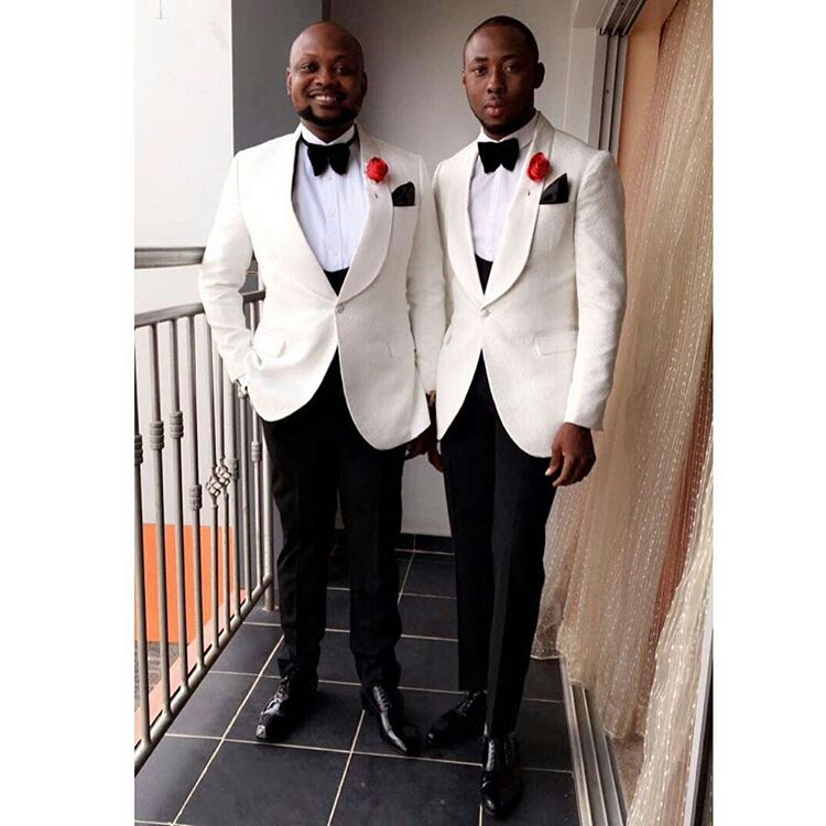 Most stylish collection of wedding suits for naija men, latest naija men suit styles, trending naija men wedding suit styles, nigerian wedding suit pictures, nigerian grooms suits, groom and groomsmen in nigeria, nigerian groom attire, nigerian groom suits, nigerian groomsmen pictures, nigerian groom traditional attire, wedding suits in lagos, Stylish Wedding Suit Styles For Nigerian Men