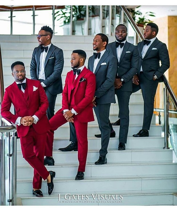 Grooms and Groomsmen Attire: Wedding Suits13