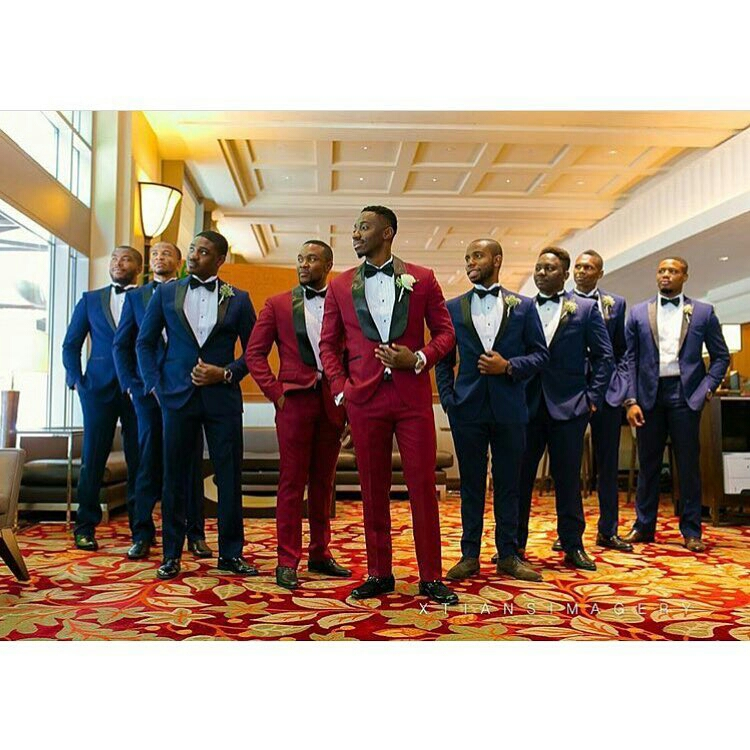 Grooms and Groomsmen Attire: Wedding Suits8