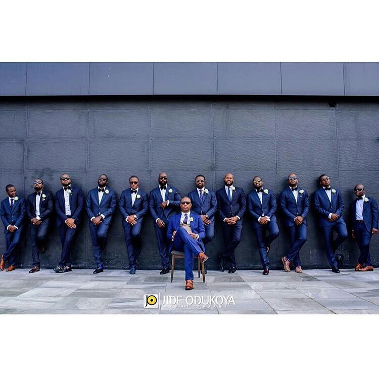 Grooms and Groomsmen Attire: Wedding Suits