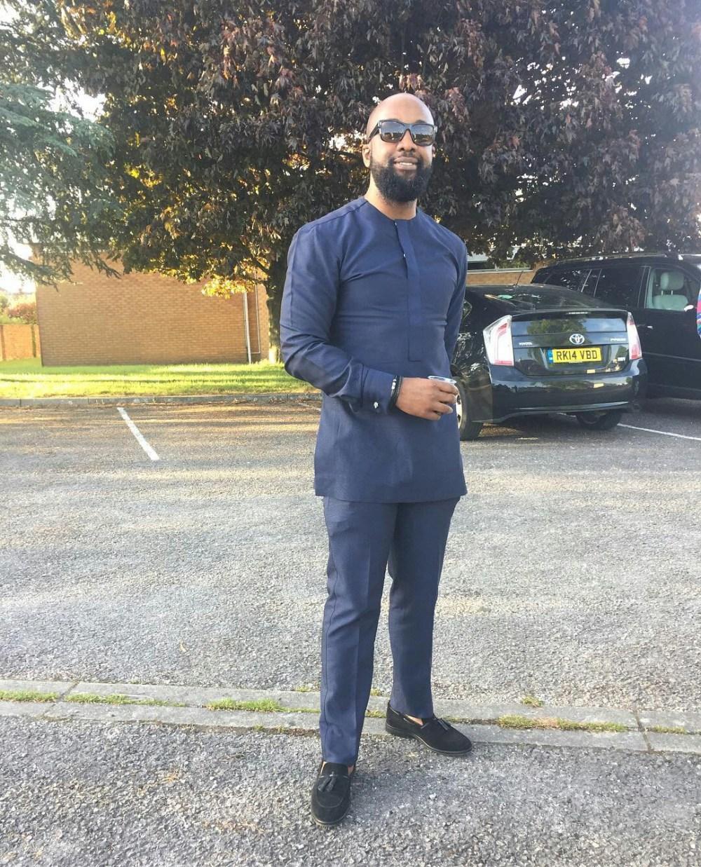 Dapper Nigerian Men's Traditional Fashion1