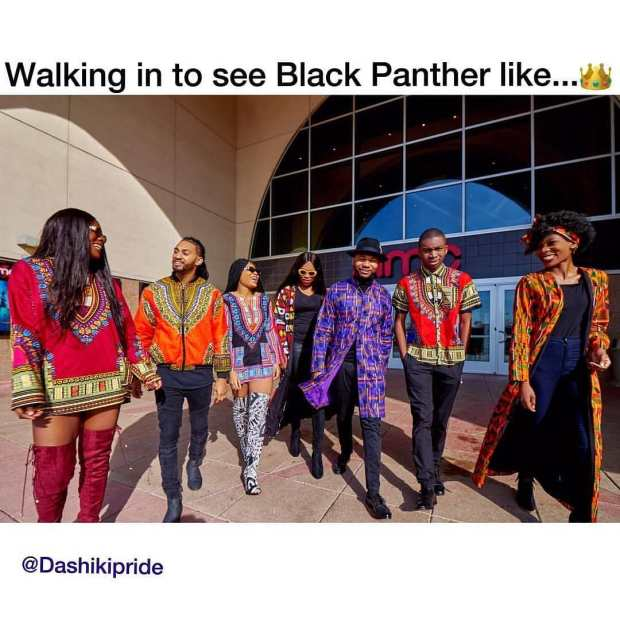 people wearing dashiki