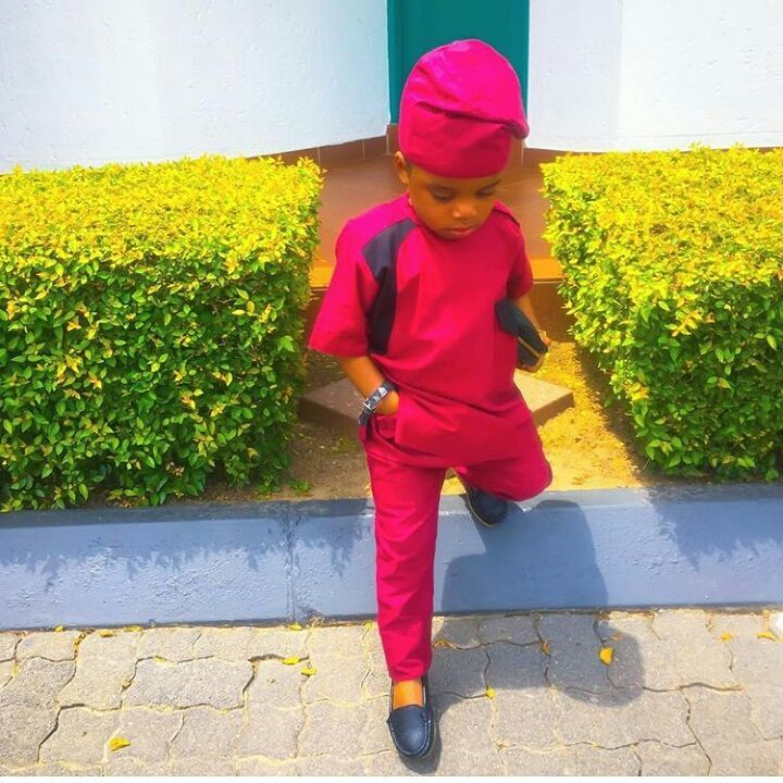 red and black senator wear for baby boy