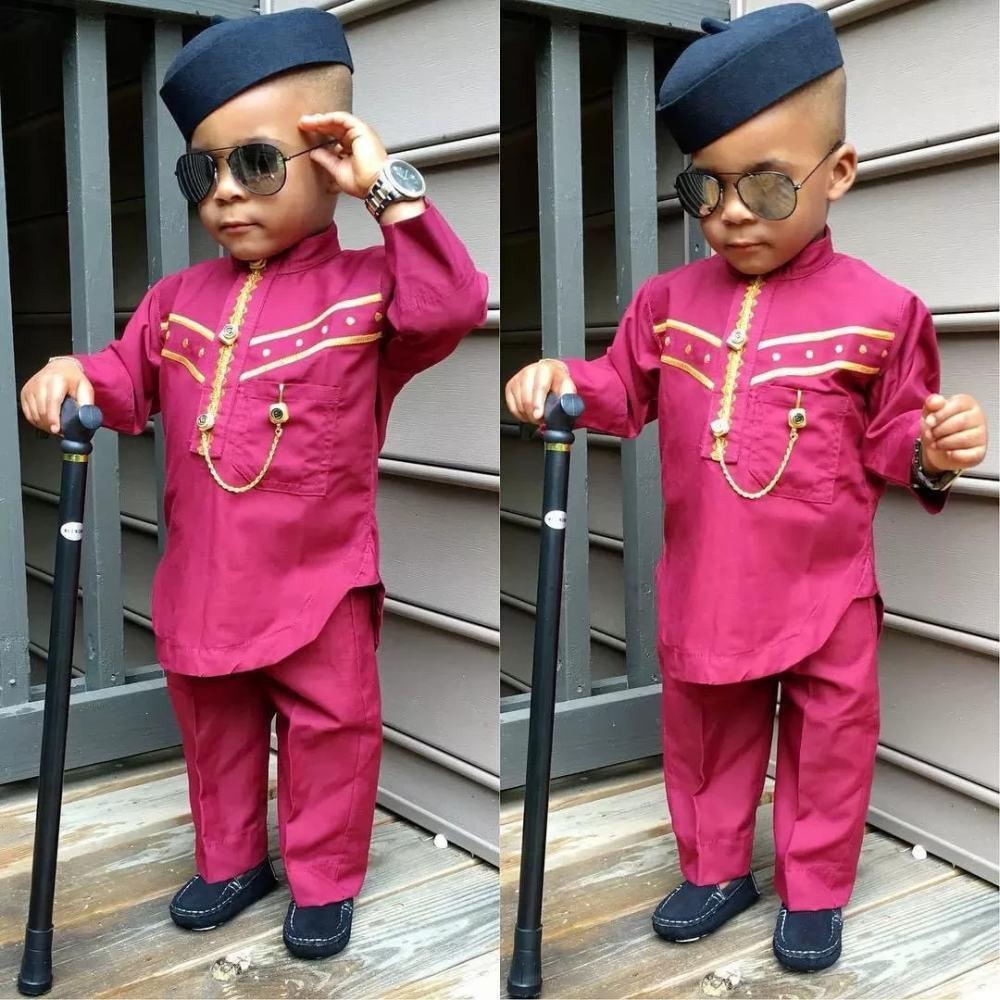 wine and silver senator wear for baby boy