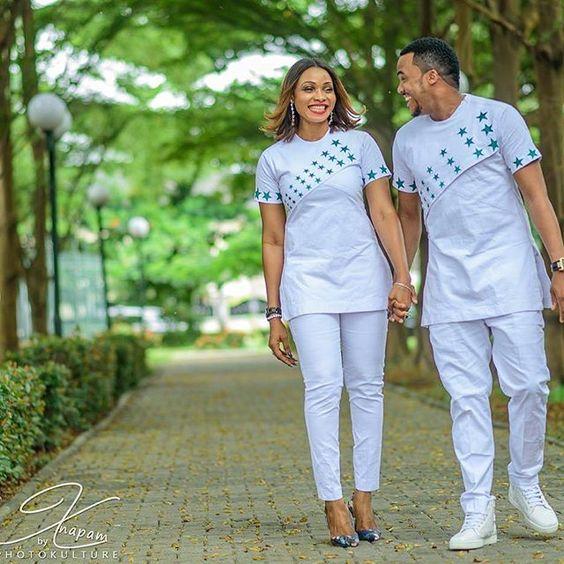 senator styles for couples all white