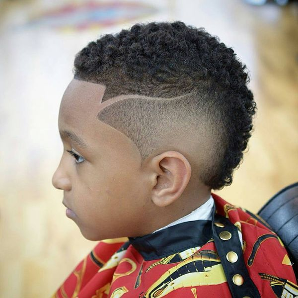 Punk Hairstyles For Nigerian Boys That Are Just Too Cute