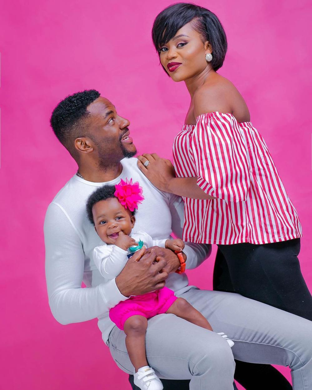 ebuka obi-echendu family wife cynthia and daughter Jasmine