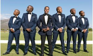 grooms in Designer suits