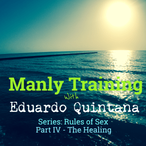 An Ocean Sunrise. The Manly Training Podcast Cover