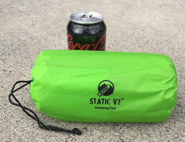 klymit static v2 pad packed