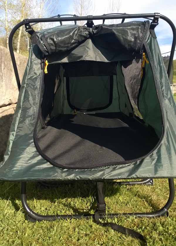 Kamp Rite Oversize Tent Cot Review Man Makes Fire