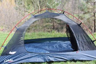 This image shows the Orion 2 tent door.