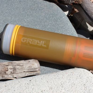 This photo shows the GRAYL ULTRALIGHT Purifier.