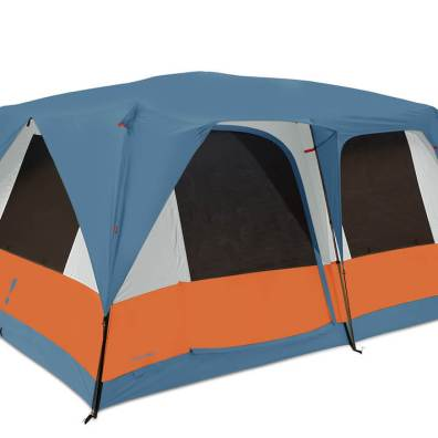 This product photo shows the Eureka! Copper Canyon LX 12 Tent.
