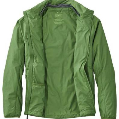 This photo shows the L.L.Bean Stretch PrimaLoft Packaway Jacket.
