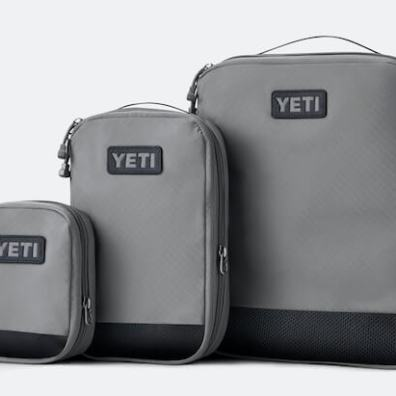 This photo shows YETI packing cubes.