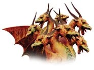 The great red dragon is Satan, who at Jesus' birth was working through pagan Rome.