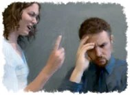 Las palabras ásperas y airadas pueden destruir el deseo de su cónyuge agradarle a usted .