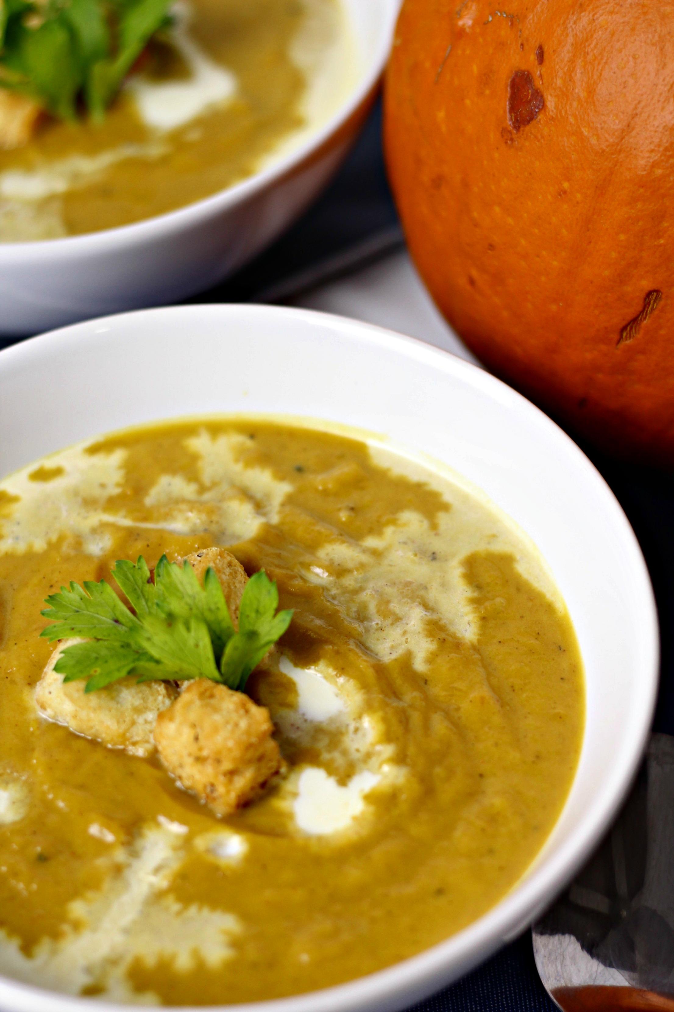 indian inspired pumpkin soup 7