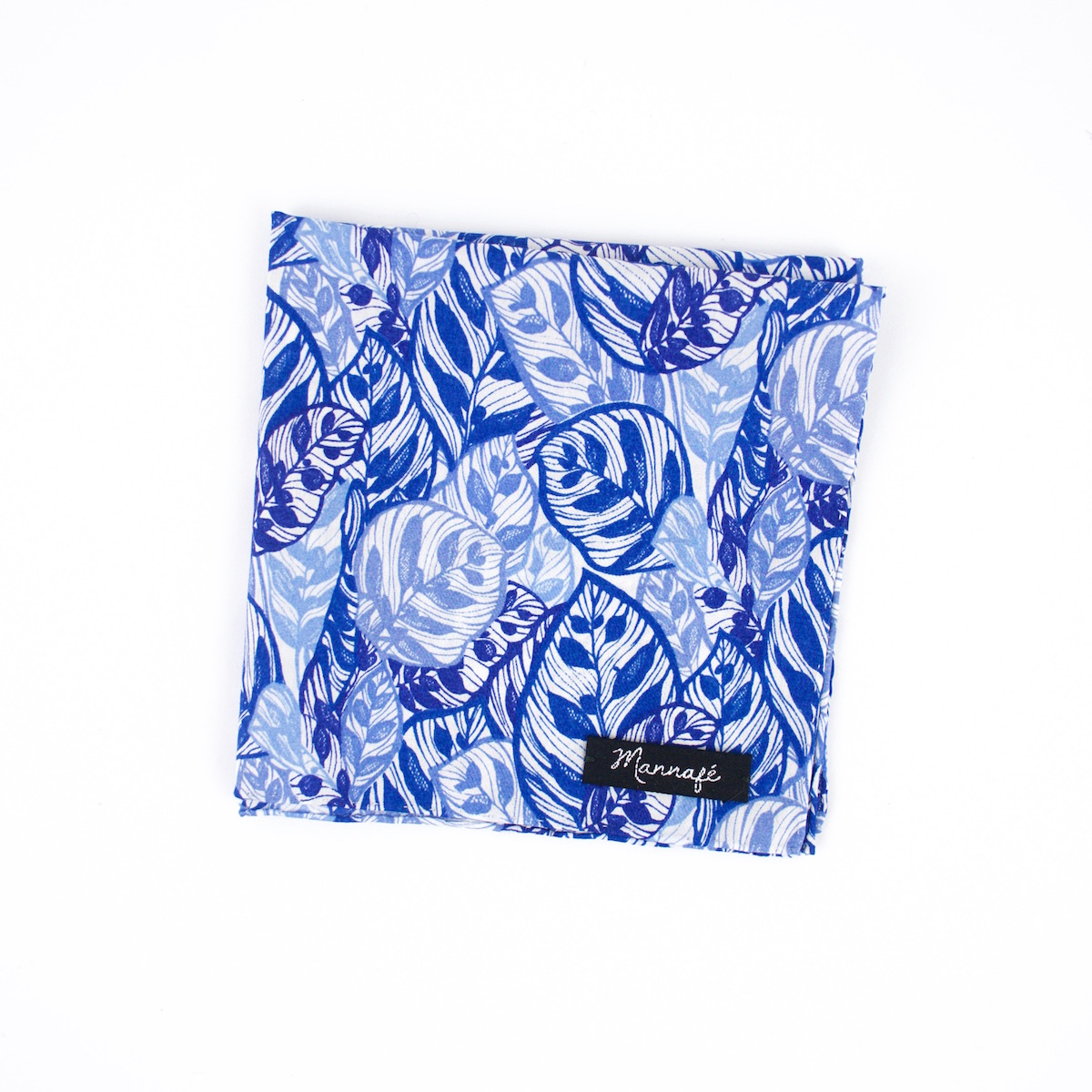 Pochette de costume Liberty Jungle blue