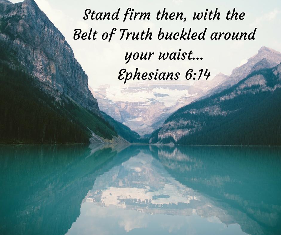 armor of God, belt of truth