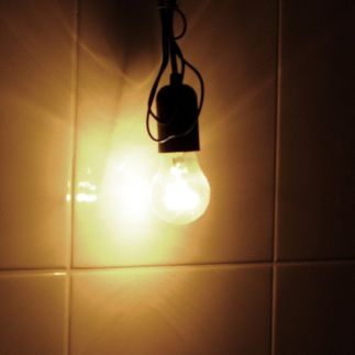 Most people give off as much heat as a 100 watt bulb, but not as much light. (Unknown)