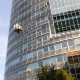 I don't want to do this job! Window cleaner, Vienna