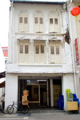 Shophouse with clinic