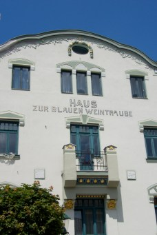 Haus zur blauen Weintraube, Mariazell, Austria