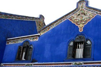 Blue Mansion windows, Penang