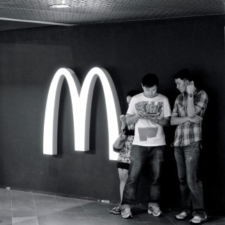 Fast food is everywhere