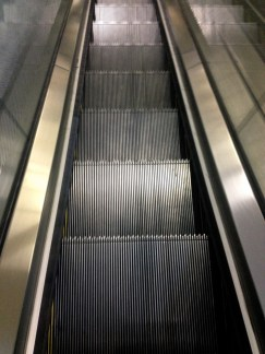 Escalator, MRT Somerset, Singapore