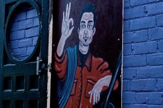 Mural hands