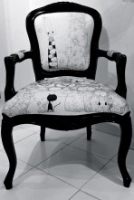 'Chairity' - Papergirl Pam, Arts & Design Against Cancer