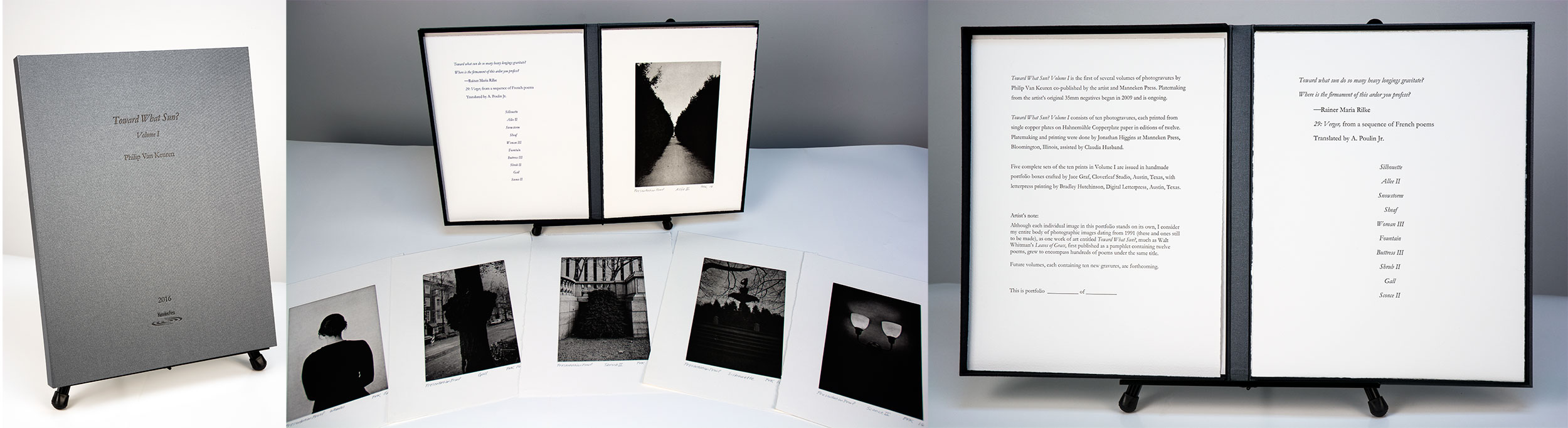 Philip Van Keuren, photogravure, Toward What Sun?, Manneken Press, portfolio