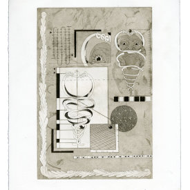 """""""Document V"""", 2020. Etching and aquatint, edition of 15. 15"""" x 11""""."""