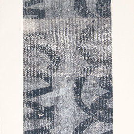 """Untitled"", 2009. Monotype. 22"" x 15""."