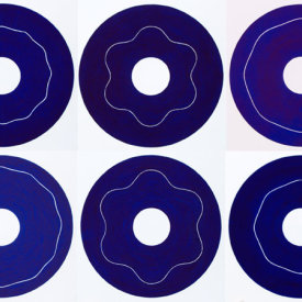 """""""Iris/1-6"""", 2000. Suite of six etchings, editions of 20."""