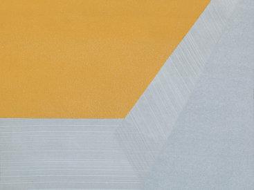 """Flap 6"", 2013. Monoprint. Image/paper size: 21 ½"" x 20 ½""."