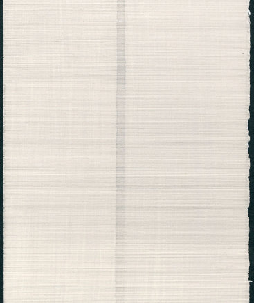 """""""Untitled I"""", 2017. Silverpoint on tinted ground on paper. 12"""" x 8 3/4""""."""