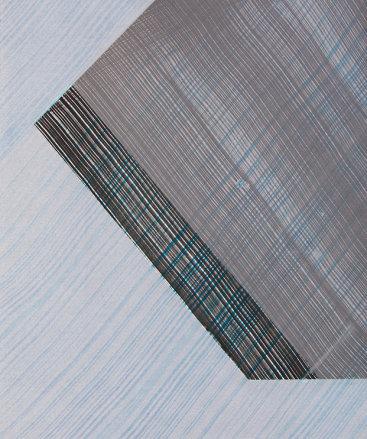 """Corner 7"", 2013. Monoprint. Image/paper size: 26 ½"" x 20 ⅝""."