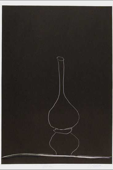 """Celadon"", 2005. Monotype. Image: 24"" x 17"", paper: 30"" x 22""."