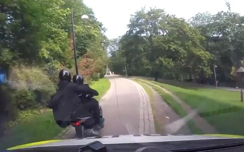 Noorse politie achter overvallers aan, GTA style