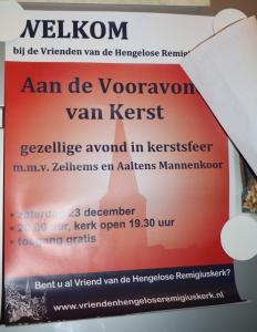 2017  Kerst concert Hengelo Gld